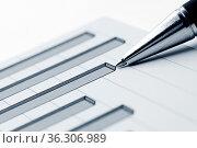Financial graphs. Стоковое фото, фотограф Zoonar.com/Andrey Malinkin / easy Fotostock / Фотобанк Лори