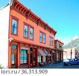 The City of Silverton in the San Juan Mountains, Colorado, USA. Die... Стоковое фото, фотограф Zoonar.com/Ulf Nammert / easy Fotostock / Фотобанк Лори