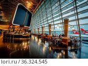 ZURICH - JUNE 29: Kloten Airport Interior on 29 June 2013 in Zurich... Стоковое фото, фотограф Zoonar.com/Andrey Omelyanchuk / age Fotostock / Фотобанк Лори