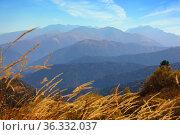 Amazing Caucasus mountain landscape. Стоковое фото, фотограф Алексей Кузнецов / Фотобанк Лори
