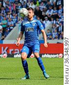 Deutscher Fussballer Christian Beck 1.FC Magdeburg DFB 3.Liga Saison... Стоковое фото, фотограф Zoonar.com/Axel Kammerer / age Fotostock / Фотобанк Лори