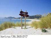 Rodas beach. Islas Cies, Islas Atlanticas National Park, Pontevedra... Стоковое фото, фотограф María Galán / age Fotostock / Фотобанк Лори