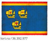 Flag of the German region North Frisia (Schleswig-Holstein, Germany... Стоковое фото, фотограф Zoonar.com/Christian Mueringer / easy Fotostock / Фотобанк Лори
