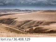 Gareja Desert, Kakheti Region, Georgia. Autumn Landscape Of Gareja... Стоковое фото, фотограф Ryhor Bruyeu / easy Fotostock / Фотобанк Лори