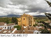 Church of the Holy Spirit, (Iglesia del Espiritu Santo), Ronda, Malaga... Стоковое фото, фотограф Ken Welsh / age Fotostock / Фотобанк Лори