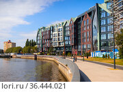 Modern buildings of Kaliningrad. Редакционное фото, фотограф EugeneSergeev / Фотобанк Лори
