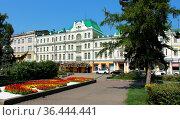 Город Омск, Зал органной и камерной музыки. Редакционное фото, фотограф Виктор Топорков / Фотобанк Лори