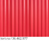 Background of roofing iron covered with red paint. Стоковое фото, фотограф Алексей Голованов / Фотобанк Лори