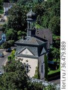 Kirche Maria Himmelfahrt Sayn im Westerwald. Стоковое фото, фотограф Zoonar.com/Dr. Lange / easy Fotostock / Фотобанк Лори