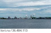 Aalborg, Denmark - 7 June, 2021: view of the Limfjord sound in Aalborg... Стоковое фото, фотограф Zoonar.com/Nando Lardi / easy Fotostock / Фотобанк Лори