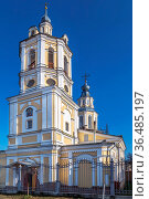 Church of St. Nicholas the Wonderworker in Kozelsk, Russia. Стоковое фото, фотограф Zoonar.com/Boris Breytman / easy Fotostock / Фотобанк Лори