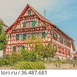 Ehemaliges Gasthaus Marthalen, Kanton Zürich, Schweiz. Стоковое фото, фотограф Zoonar.com/Falke / age Fotostock / Фотобанк Лори