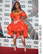 Winnie Harlow - Arrives for the GQ Men of the Year Awards at the ... Редакционное фото, фотограф John Rainford / age Fotostock / Фотобанк Лори