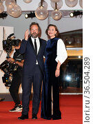 Director Maggie Gyllenhaal, Peter Sarsgaard during The Lost Daughter... Редакционное фото, фотограф Antonelli / AGF/Maria Laura Antonelli / age Fotostock / Фотобанк Лори