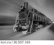 The old steam locomotive manufacture of the USSR. Стоковое фото, фотограф Zoonar.com/Roman Ivashchenko / easy Fotostock / Фотобанк Лори