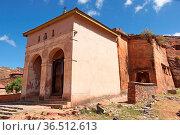 Monolithic church Abreha Atsbeha, Tigray, Ethiopia, Africa. Стоковое фото, фотограф Zoonar.com/Alexander Ludwig / easy Fotostock / Фотобанк Лори