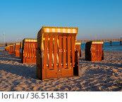 Am strand von Binz auf Rügen. Стоковое фото, фотограф Zoonar.com/Stephan S / easy Fotostock / Фотобанк Лори