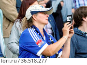 Noch schnell ein Selfie - DFB-Pokal 16/17 1 HR: FC 08 Villingen - ... Стоковое фото, фотограф Zoonar.com/Joachim Hahne / age Fotostock / Фотобанк Лори