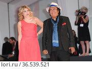 Albano Carrisi alias Al Bano with his daugther Yasmine during the... Редакционное фото, фотограф Antonelli / AGF/Maria Laura Antonelli / age Fotostock / Фотобанк Лори