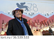 Albano Carrisi alias Al Bano during the red carpet of the party offered... Редакционное фото, фотограф Antonelli / AGF/Maria Laura Antonelli / age Fotostock / Фотобанк Лори