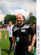 SBFV-Pokal - 2015/16: Finale: SV Oberachern vs. FC 08 Villingen. Стоковое фото, фотограф Zoonar.com/Joachim Hahne / age Fotostock / Фотобанк Лори