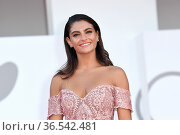 Aurora Giovinazzo during 'Freaks Out' red carpet during the 78th ... Редакционное фото, фотограф AGF/Maria Laura Antonelli / age Fotostock / Фотобанк Лори