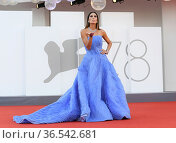 Elisabetta Gregoraci during 'Freaks Out' red carpet during the 78th... Редакционное фото, фотограф AGF/Maria Laura Antonelli / age Fotostock / Фотобанк Лори