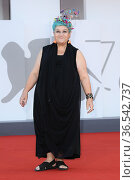 Serra Yilmaz during 'Freaks Out' red carpet during the 78th edition... Редакционное фото, фотограф AGF/Maria Laura Antonelli / age Fotostock / Фотобанк Лори