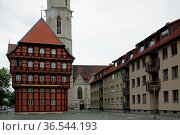 Alte Waage Braunschweig. Стоковое фото, фотограф Zoonar.com/Martina Berg / easy Fotostock / Фотобанк Лори