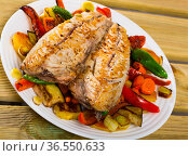 Bulgarian Plakiya with mackerel. Стоковое фото, фотограф Яков Филимонов / Фотобанк Лори