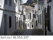 Zuheros village, Sierra de la Subbetica, Andalusia,Spain. Стоковое фото, фотограф Frederic Soreau / age Fotostock / Фотобанк Лори