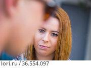 Teen girl is lonesome without a boyfriend. Стоковое фото, фотограф Emil Pozar / age Fotostock / Фотобанк Лори