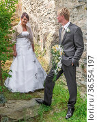 Hochzeitspärchen. Стоковое фото, фотограф Zoonar.com/H.Eschrich / age Fotostock / Фотобанк Лори