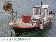 Fischerboot in Senj an der dalmatinischen Küste. Стоковое фото, фотограф Zoonar.com/Eder Hans / easy Fotostock / Фотобанк Лори