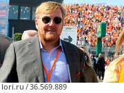 ZANDVOORT, Netherlands, 05. SEPTEMBER 2021, King Willem-Alexande ... Редакционное фото, фотограф ATP / WENN / age Fotostock / Фотобанк Лори