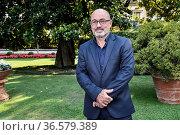 Italian Minister for Ecological Transition Roberto Cingolani during... Редакционное фото, фотограф Nicola Marfisi / AGF/Nicola Marfisi / AGF / age Fotostock / Фотобанк Лори