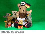 Fußballfans. Стоковое фото, фотограф Zoonar.com/KramBam / easy Fotostock / Фотобанк Лори