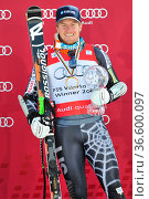 Ted Ligety, Siegerehrung, Fis-Weltcupfinale, 2010, Garmisch-Partenkirchen... Стоковое фото, фотограф Zoonar.com/GUENTER LENZ / age Fotostock / Фотобанк Лори