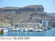 Puerto de Mogan,mogan, hafen, boot, boote, schiff, schiffe, gran Canaria... Стоковое фото, фотограф Zoonar.com/Volker Rauch / easy Fotostock / Фотобанк Лори