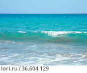 Meereswelle, Meereswellen, welle, wellen, meer, ozean, wasser, gischt... Стоковое фото, фотограф Zoonar.com/Volker Rauch / easy Fotostock / Фотобанк Лори