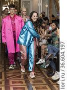 PALOMA SUAREZ AT MERCEDES BENZ FASHION WEEK IN SHOW ROOM ESPACIO ... Редакционное фото, фотограф Rafael De La Camara / age Fotostock / Фотобанк Лори