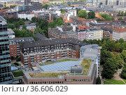 Hamburg, stadt, elbe, hafen, hafenstadt, kirche, kirchen, großstadt... Стоковое фото, фотограф Zoonar.com/Volker Rauch / easy Fotostock / Фотобанк Лори