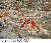 Holz, Farbe, brett, maserung, farbreste, farbkleckse, hintergrund... Стоковое фото, фотограф Zoonar.com/Volker Rauch / easy Fotostock / Фотобанк Лори