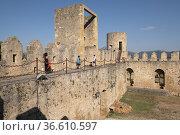 Castle of Frías, Autonomous Community of Castilla y León, Spain. Стоковое фото, фотограф Tolo Balaguer / age Fotostock / Фотобанк Лори