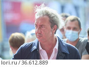 Paolo Sorrentino attended 'The hand of God' Red Carpet during 69th... Редакционное фото, фотограф ©MANUEL CEDRON / age Fotostock / Фотобанк Лори