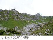 Hoher burgstall, burgstall, stubai, stubaital, berg, berge, alpen... Стоковое фото, фотограф Zoonar.com/Volker Rauch / easy Fotostock / Фотобанк Лори
