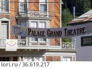 Dawson City bekannte Stadt aus der Zeit des Goldrausches - auch heute... Стоковое фото, фотограф Zoonar.com/Ralf Weise / age Fotostock / Фотобанк Лори