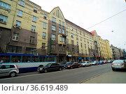 Hotel Victorija, Riga, Lettland. Стоковое фото, фотограф Zoonar.com/Günter Lenz / age Fotostock / Фотобанк Лори