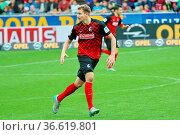 Immanuel Höhn (Freiburg), Fussball: 2. BL 15-16: 9. Sptg.: SC Freiburg... Стоковое фото, фотограф Zoonar.com/Joachim Hahne / age Fotostock / Фотобанк Лори