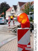 Baustelle. Стоковое фото, фотограф Zoonar.com/Martina Berg / easy Fotostock / Фотобанк Лори
